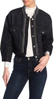 7 For All Mankind Cropped Trucker Jacket