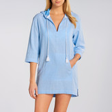 Seafolly Hooded Chambray Tunic