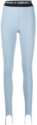 Ambush Stretch-Fit Scuba Leggings