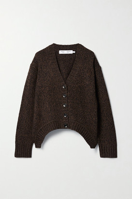 Proenza Schouler White Label Knitted Cardigan - Chocolate