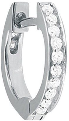 VANRYCKE Officiel single hoop with diamonds