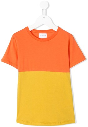 Wolf & Rita Sebastiao colour block T-shirt