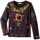 Dolce & Gabbana City Embroidered T-Shirt Girl's T Shirt