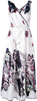 Antonio Marras printed flared dress - women - Silk/Polyester/Acetate/Viscose - 42