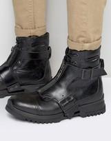 Diesel Klosure Buckle Boots