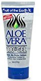 Fruit of the Earth Aloe Vera 100% Gel, Crystal Clear (6 oz / 170 g)