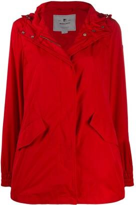 Woolrich Hooded Raincoat