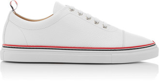 Thom Browne Striped Leather Sneakers