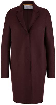 Harris Wharf London Cocoon coat in felted wool