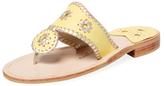 Jack Rogers Navajo Leather Thong Sandal