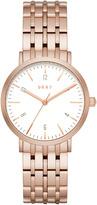 DKNY Minetta Rose Gold Tone Watch