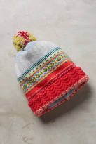 Eribe Fairisle Folk Wool Beanie