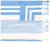 Twin-Set woven stripe scarf