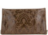 Maison Margiela floral embroidered clutch bag - women - Calf Leather/Polyester - One Size