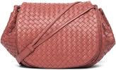Bottega Veneta Messenger Bag in Red