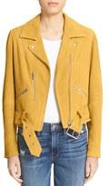 Veda Women's 'Gemini' Suede Moto Jacket