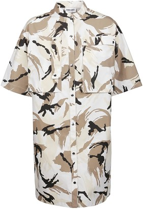 Kenzo Dress Printed Shirting