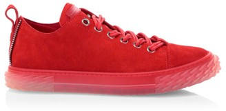 Giuseppe Zanotti Blabber Velour Low-Top Sneakers