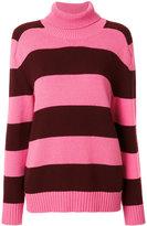 Laneus striped jumper - women - Wool - 40