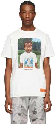 Heron Preston White Heron Baby T-Shirt