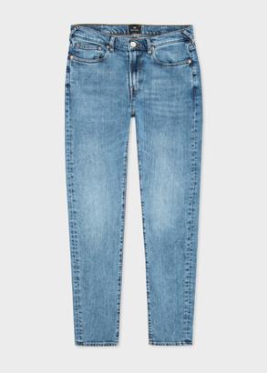 Paul Smith Men's Slim-Fit Mid-Wash 'Dry Indigo' Jeans