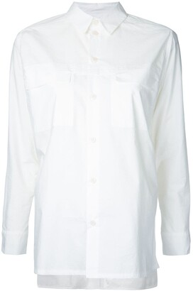 Toogood The Farmer multi-button cuff shirt