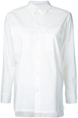 Toogood The Farmer multi-button cuff shirt