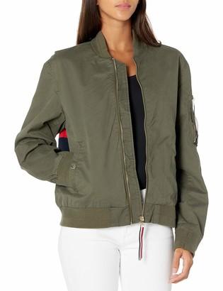 Tommy Hilfiger Women's Flag Bomber Jacket