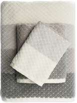 Caro Home Paloma Diamond Stripe Washcloth