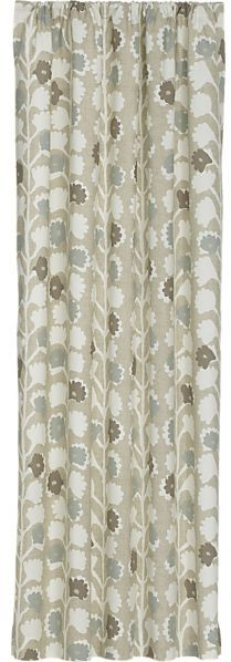 Crate & Barrel Norah Curtain Panel.