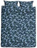 H&M Floral-print Duvet Cover Set - Dark blue