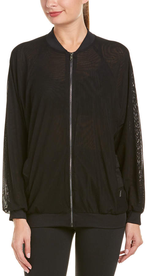 Activewear Oversized Bomber Jacket