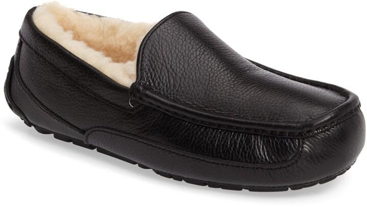7817e02a8f2 Ascot Leather Slipper