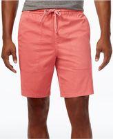 Original Penguin Men's 8and#034; Slim-Fit Stretch Garment-Dyed Shorts