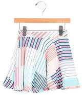 Paul Smith Girls' Striped A-Line Skirt w/ Tags