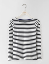 Boden Long Sleeve Short Line Breton