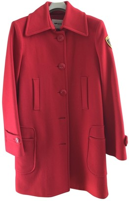 Gas Jeans Red Wool Coats