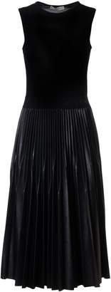 Givenchy Sleeveless Pleated Skirt Dress