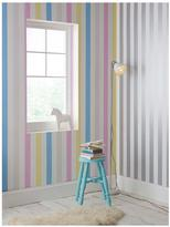 Graham & Brown Cotton Candy Stripe Wallpaper