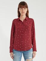 Rails Kate Button Up Silk Shirt