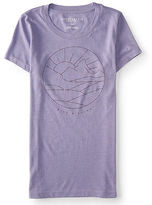 Aeropostale Womens Rise And Shine Graphic T Shirt