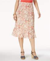 Alfred Dunner La Dolce Vita Textured Skirt