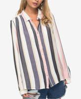 Roxy Juniors' Striped Blouse