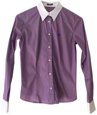 Brooksfield Purple Cotton Top for Women