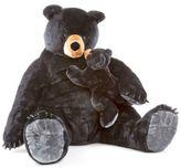 Melissa & Doug Black Bear and Cub Plush