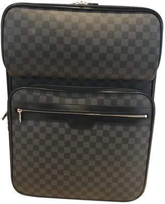 Louis Vuitton Pegase Anthracite Cloth Bags