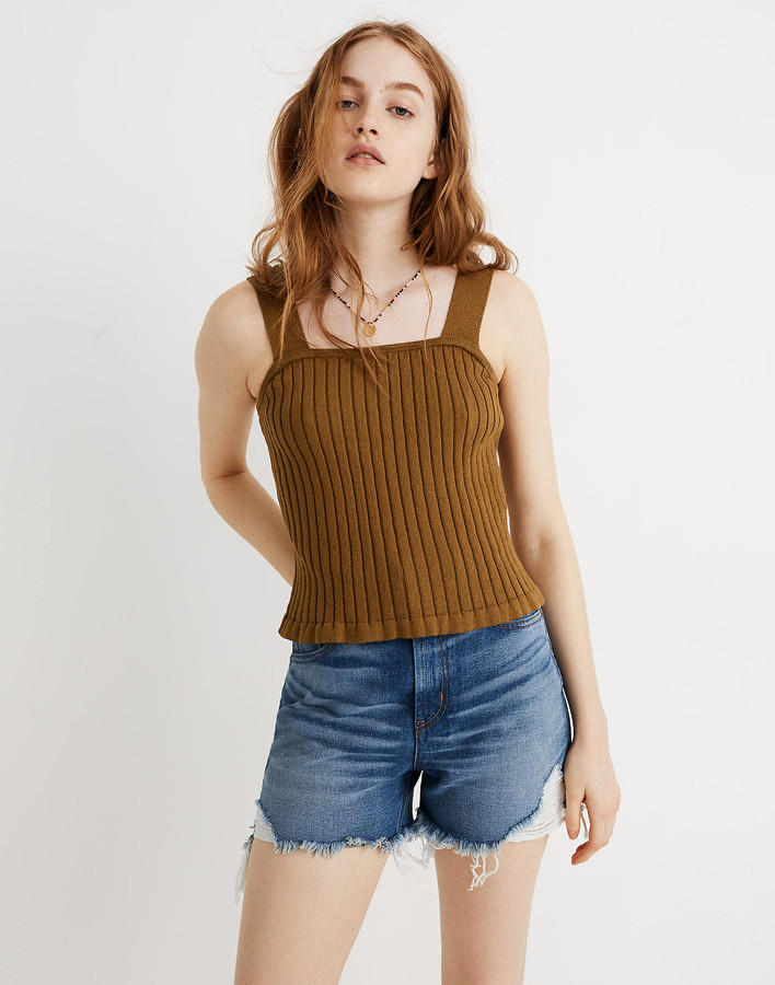 Tilney Ribbed Sweater Tank