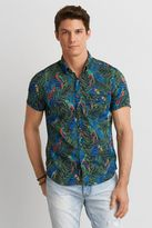 American Eagle Outfitters AE Print Short Sleeve Shirt