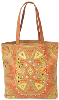 Antik Batik Hudson Embroidered Cotton Tote