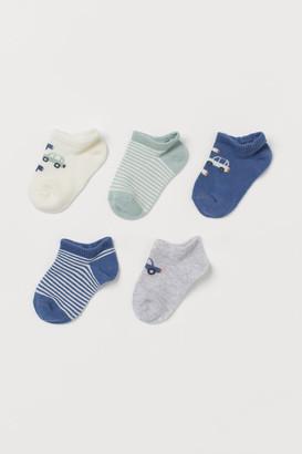 H&M 5-Pack Trainer Socks